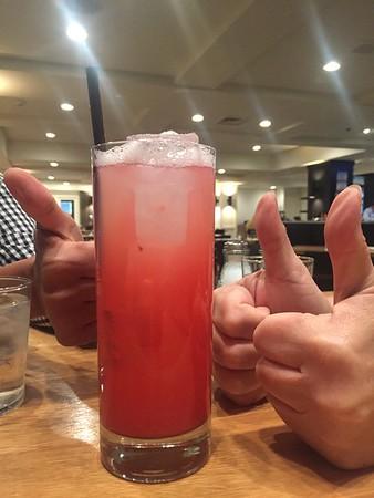 Raspberry Lemonade - 3 thumbs up!
