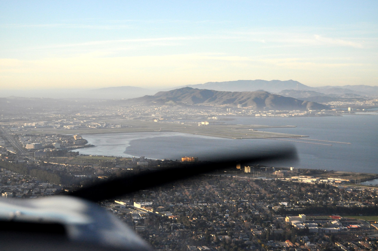 SFO & San Bruno Mountain
