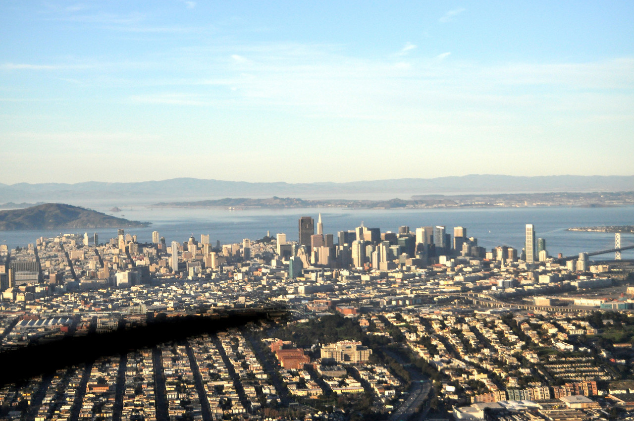 downtown SF, and another propellor blade..