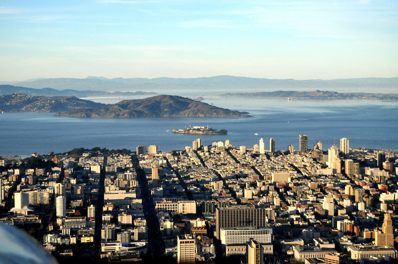 SF, Alcatraz, and Angel Island