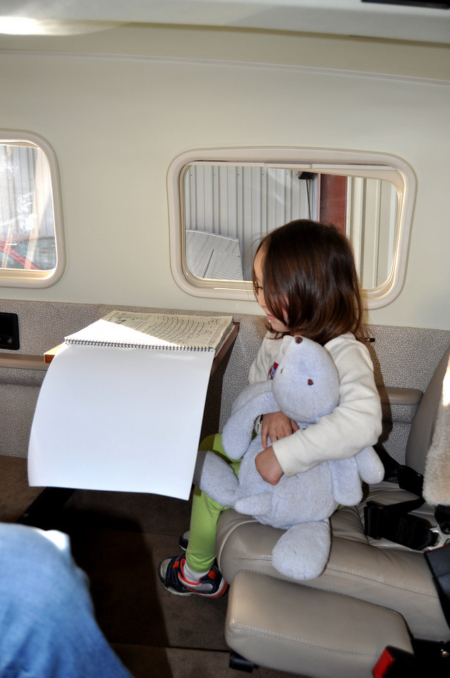 Naomi & Abu are preparing the flight plan...