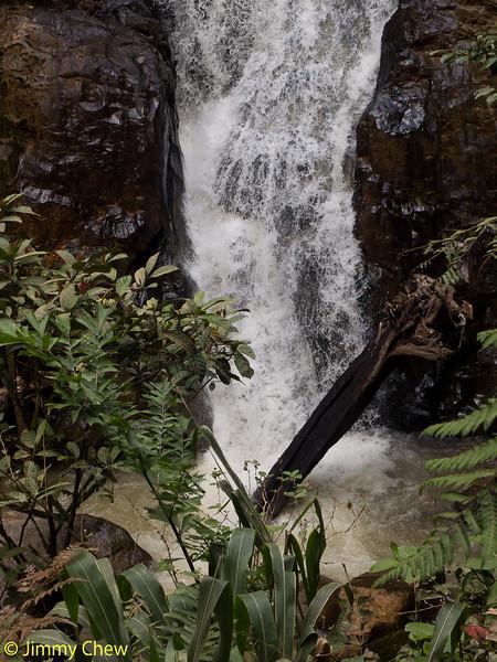 Robinson's Waterfall - base.