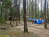 Camp Site (Tapak) C. Lots for pitching tents.