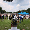 Record-Eagle/Keith King<br /> The burial service for United States Marine Sgt. Justin Hansen takes place Saturday, August 4, 2012 at Grand Traverse Memorial Gardens in Traverse City.