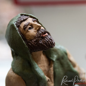 Detail of face of Joseph.  Can you wonder what has gotten his attention?