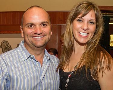 Paul Swider and Marcy Kellar