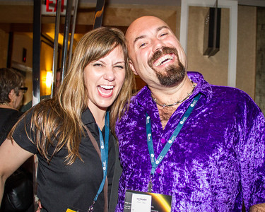 Marcy and Mike's fuzzy shirt Marcy and Mike