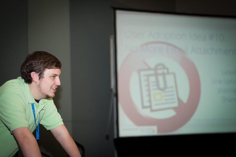 Nick Inglis Presents on User Adoption
