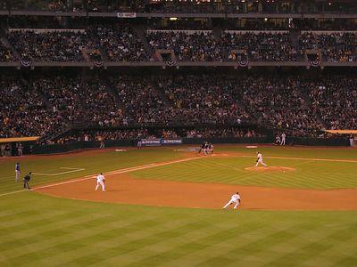 Oakland A's opener - Oakland vs Texas