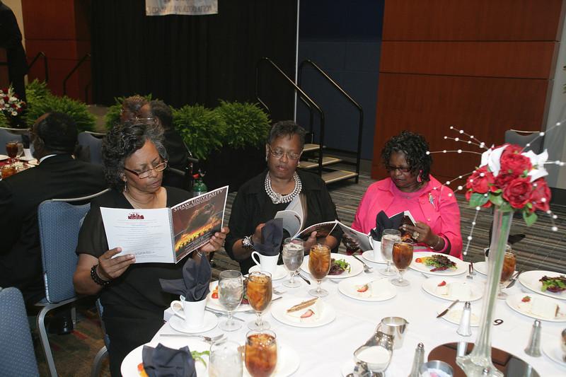 Shaw Alumni Dinner in Raleigh NC; October 7, 2011