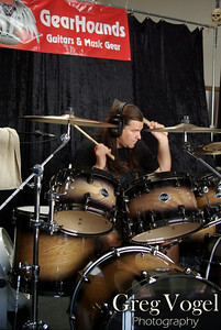 Shawn Drover, Drum Clinic, Gearhounds, Lake Elsinore, CA