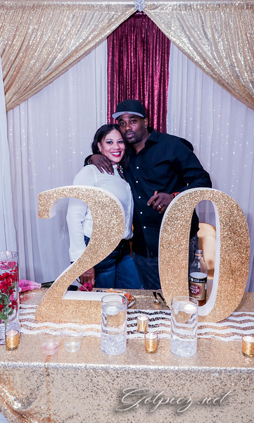Will and Shayla  Surprise 20th Wedding Anniversary
