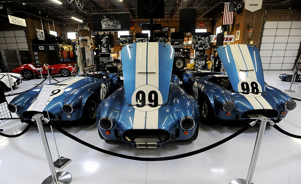 "Shelby Cobras were the top racing machines in the 1960's.<br /> For more photos and a video, go to  <a href=""http://www.dailycamera.com"">http://www.dailycamera.com</a>.<br /> Cliff Grassmick / June 12, 2010"