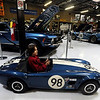 "Jonathan Perry, 10, of Broomfield, tries the fit with a smaller version of the Shelby Cobra at the Shelby American Collection museum in Boulder.<br /> For more photos and a video, go to  <a href=""http://www.dailycamera.com"">http://www.dailycamera.com</a>.<br /> Cliff Grassmick / June 12, 2010"