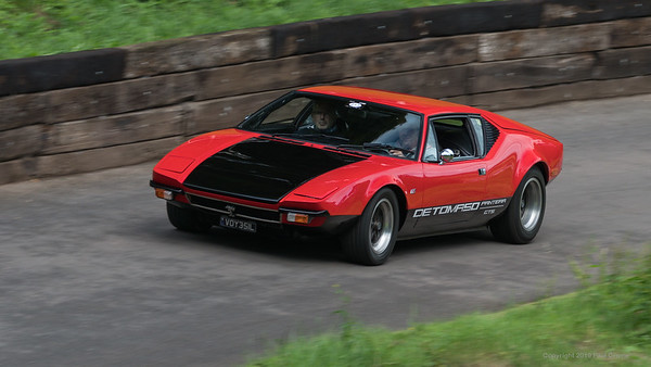 De Tomaso Pantera GTS  - Shelsley Walsh Hill Climb - supercarfest 20th July 2019