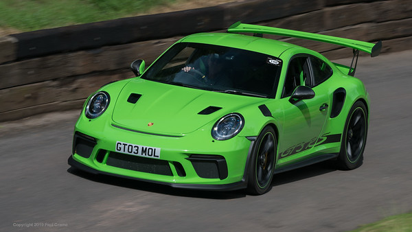 Porsche 911 991 2 GT3 RS Rob and Molly Taylor - Shelsley Walsh Hill Climb - supercarfest 20th July 2019