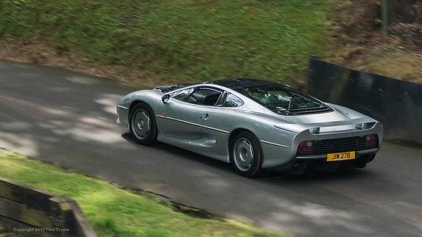 Jaguar XJ220   - Shelsley Walsh Hill Climb - supercarfest 20th July 2019