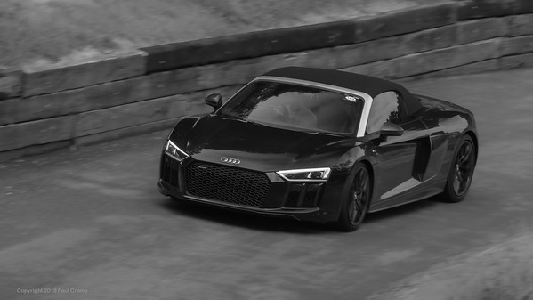 Audi R8 V10 Spyder  - Shelsley Walsh Hill Climb - supercarfest 20th July 2019