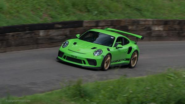 Porsche GT3 RS  - Shelsley Walsh Hill Climb - supercarfest 20th July 2019