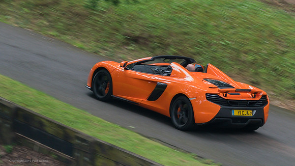 McLaren 650 Spider   - Shelsley Walsh Hill Climb - supercarfest 20th July 2019