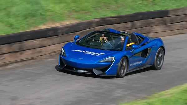 McLaren 570 Spider  - Shelsley Walsh Hill Climb - supercarfest 20th July 2019
