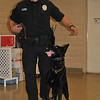 Officer Jeff Schmidt and his canine partner Abel