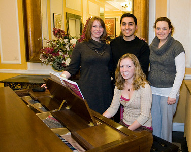 Saint Louis University's Sigma Chapter of National Honorary Musical Fraternity, Mu Beta PsiMeghan Garvin, Max Von Schleherried, Libby Rodgers, & Kathryn McCulleyVisit the Mu Beta Psi website at www.mubetapsi.org