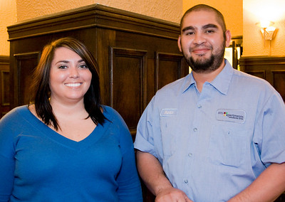 Andee and Martin of STL apartments