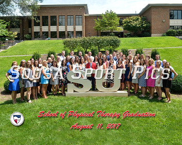 Shenandoah University Physical Therapy Graduation 8.11.17