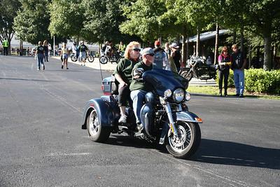 Sheriff's charity ride 2009