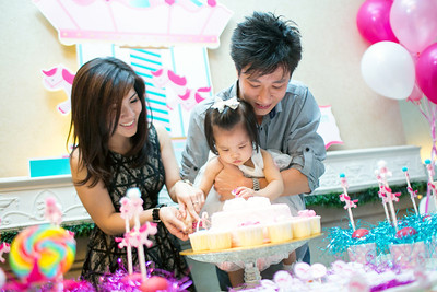 Shin Ern 1st Birthday