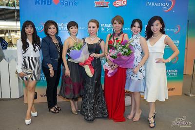 Shinju Pearls Fashion Show @ Paradigm Mall