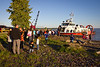 Lineup for the Canada Coast Guard hovercraft.