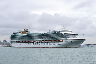 VENTURA taken from Hythe Pier on 25 April 2015