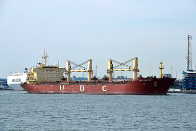 UBC LONGKOU taken from Hythe Pier on 15 July 2013