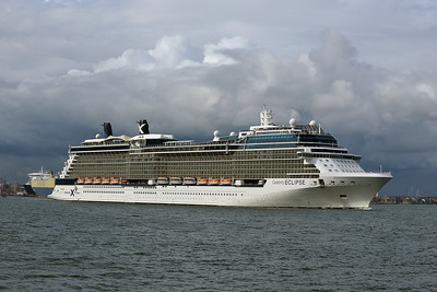 CELEBRITY ECLIPSE  taken from Hythe Pier on 10 May 2016
