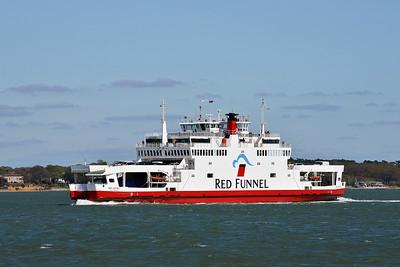 RED OSPREY taken from Hythe Pier on 22 April 2015