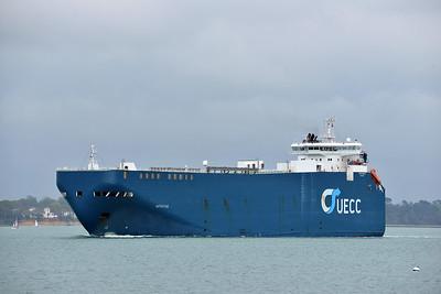 AUTOSTAR taken from Hythe Pier on 25 April 2015