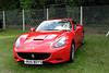 Ferrari California at Shire Horse Car Rally 2010