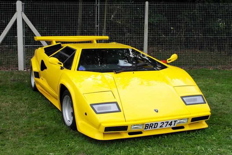 Lamborghini Countach at Shire Horse Car Rally 2010