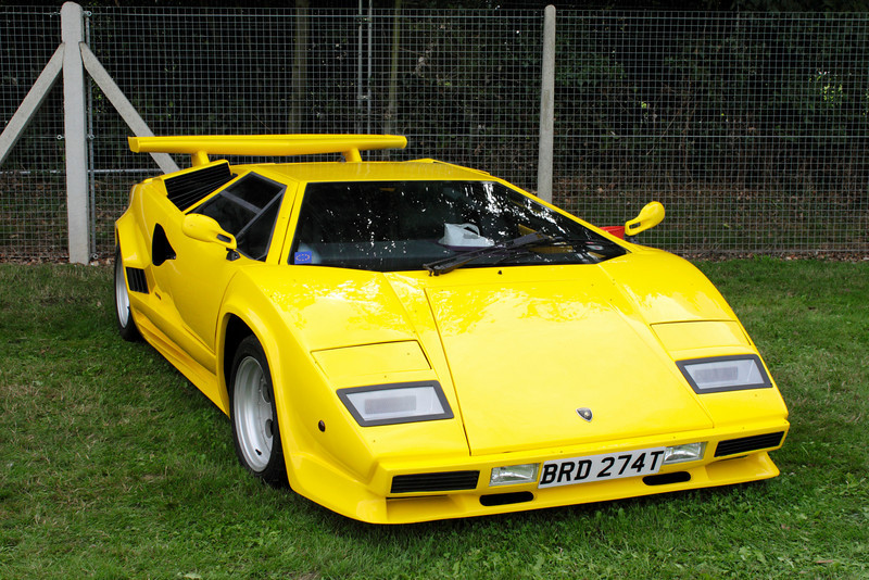 Lamborghini Countach at Shire Horse Car Rally 2010