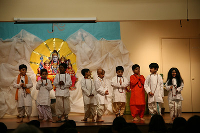 Shivaratri Celebrations by KG, 2nd, 4th, 7th and 9th Grades