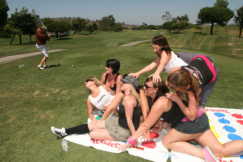 "People having fun at ISVodka sponsored Shore Golf Club picture gallery free download of image for personal use with photo credit of ""John Cocozza courtesy of www.ISVodka.com"""