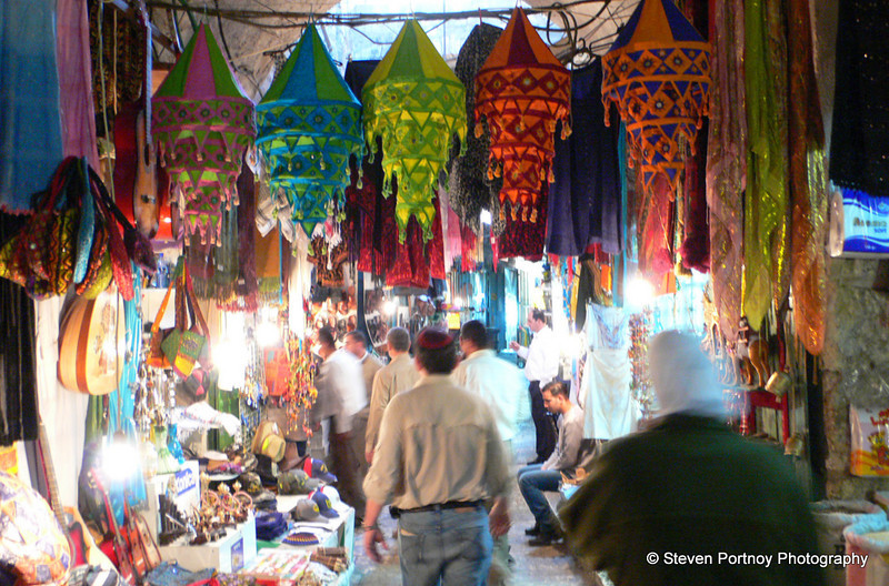 Souk, Jewish Quarter, Jerusalem, Israel, March 28, 2008