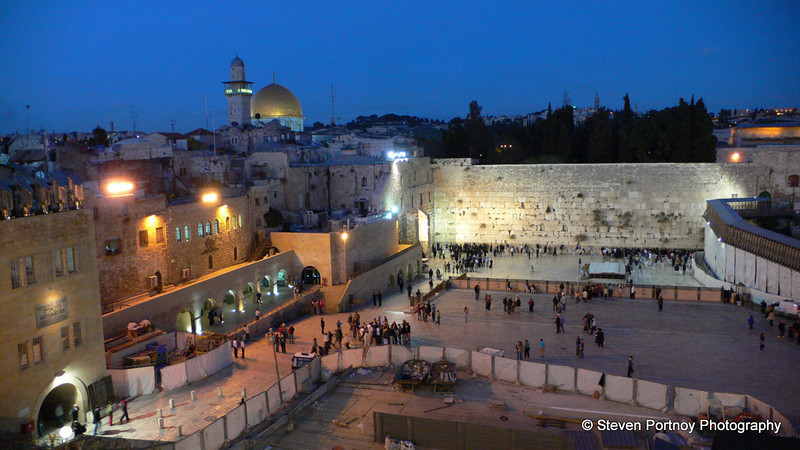 The Western Wall, Jerusalem, Israel, March 27, 2008