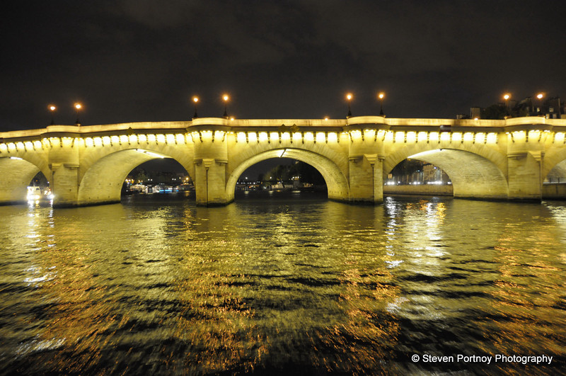 Seine Bridge at Asnieres, Paris, France, September 14, 2009
