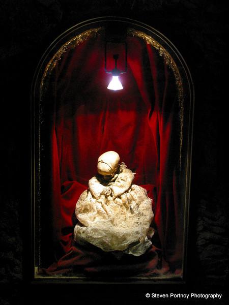 Mummified Baby, El Museo De Las Momias, Guanajuato, Mexico, April 9, 2002