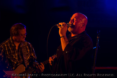 John Davis of the Iron Cowboys Band at the 2013 ThunderBash