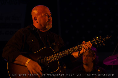 John Davis and Myke Halchak (in the background) from the Iron Cowboys Band at the 2013 ThunderBash
