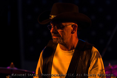 Guitarist from the Iron Cowboys at the 2013 ThunderBash